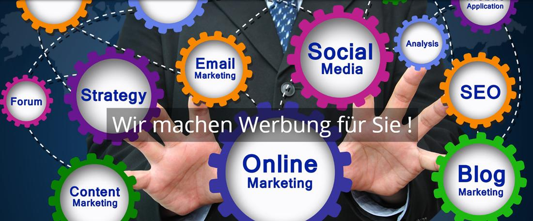 Marketing & Werbe Agentur in Seinsheim - CYCROFT.de: Web-Marketing, SEO, SEM, Social Media, Internet Werbung