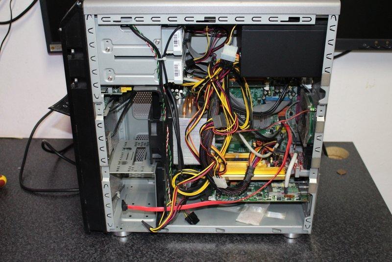 Dieser PC ist überhitzt gewesen und hätte noch gerettet werden können
